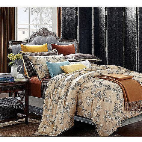 japanese comforter set everrouge asian garden 7 piece bedding duvet set walmart com