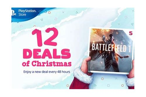 ps store 12 deals of christmas leak