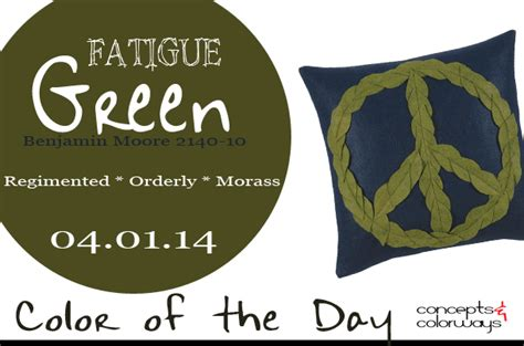 fatigue color tree hugger green peace pillow from zinc door archives