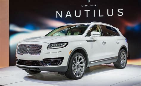 2019 Ford Nautilus by 2019 Lincoln Nautilus Suv Replaces The Mkx News Car