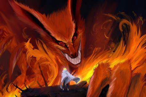 imagenes de naruto el zorro de 9 colas de pequeo imagenes tiernas naruto frente al zorro demonio de nueve colas naruto