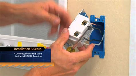 z wave light switch no neutral ge z wave on off switch youtube