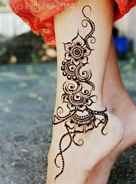 tattoo henna leg henna tattoo designs tattoos beautiful