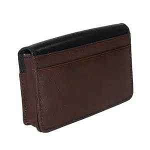 wallet business card holder leather business card holder organizer by buxton small