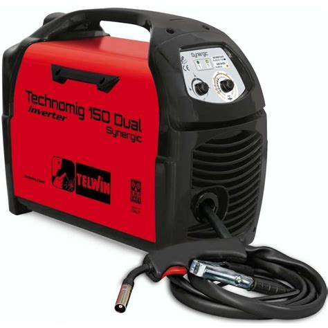 Mesin Las Bull Saldatrice Inverter A Filo Technomig 150 Dual Synergic