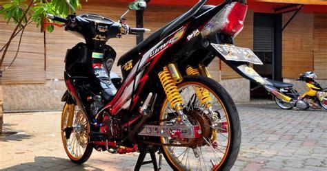 Lu Hid Motor Supra modifikasi motor supra thai look style