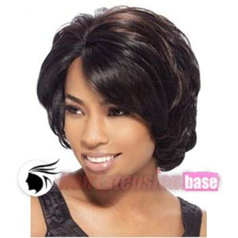 short wrap wigs for african american 10 inch wavy short african american hair wigs 2 dark brown