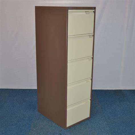 Bisley 5 Drawer Filing Cabinet by Bisley Bs5e Brown 5 Drawer Filing Cabinet