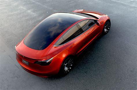 Tesla Rear Exclusive Tesla Model 3 Photo Shoot At The Gigafactory