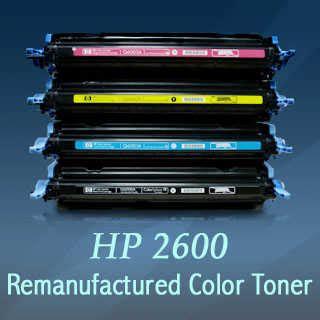 Toner Cartridge Remanufactured Q6000a K Q6001a C Q6002a Y Q6003a hp2600 remanufactured color toner cartridge made in korea
