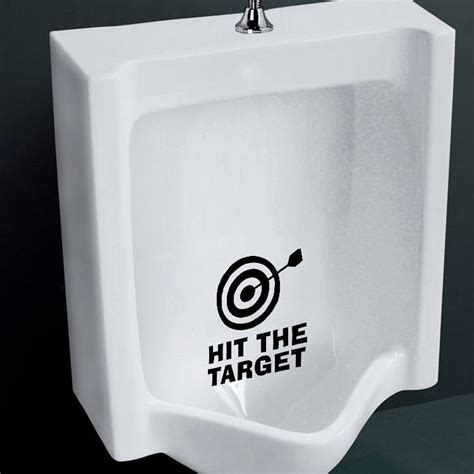 funny bathroom stickers funny hit the target toilet seat vinyl decals removable