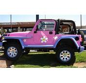 Life Size Barbie Jeep Yes  Pink Pinterest