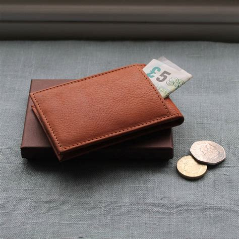 Wallet Mini by Personalised S Mini Leather Wallet By Nv