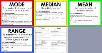 math mean median mode range outlier