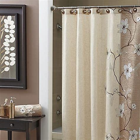 40 inch shower curtain croscill magnolia 70 inch x 72 inch shower curtain