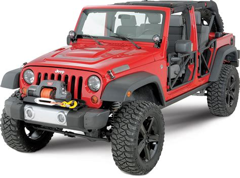 jeep bumper with winch warn winch mounting plate for 07 18 jeep wrangler jk with