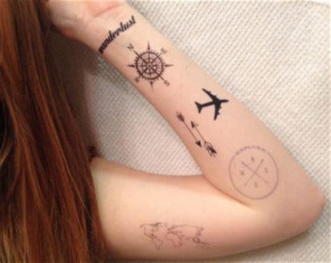 airplane tattoo etsy