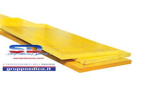 tavole gialle da cantiere pannello tavole giallo edilizia getto carpenteria e palchi