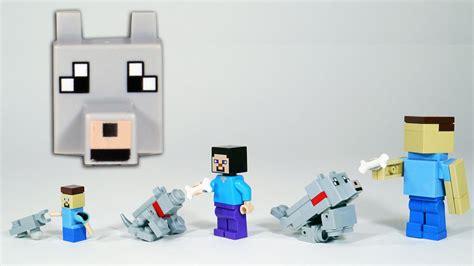 Lego Minecraft Cube World 2 how to build lego minecraft wolf