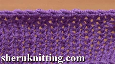 crochet bind for knitting crochet bind in knitting tutorial 7 method 7 of 12