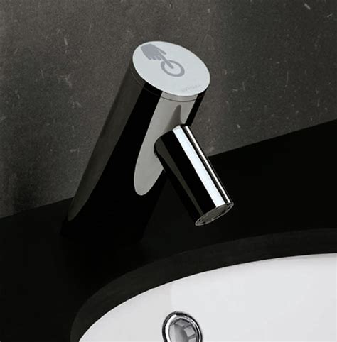 Electronic Faucet by New Electronic Bathroom Faucet From Sanindusa The Spot