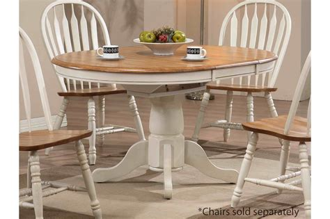 White And Wood Kitchen Table by Beautiful White Kitchen Table And Chairs Homesfeed