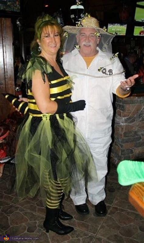 bee keeper   queen bee couple costume diy costumes