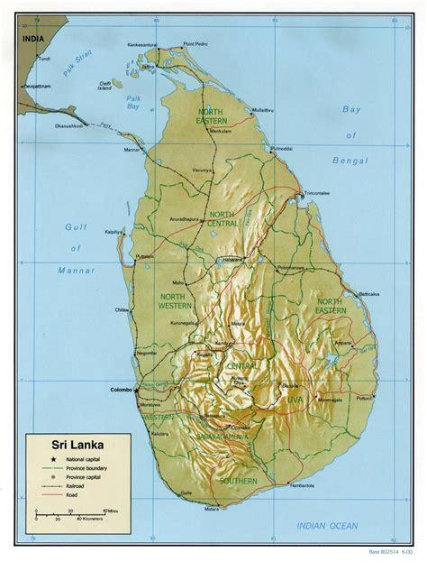 earth map sri lanka map of sri lanka