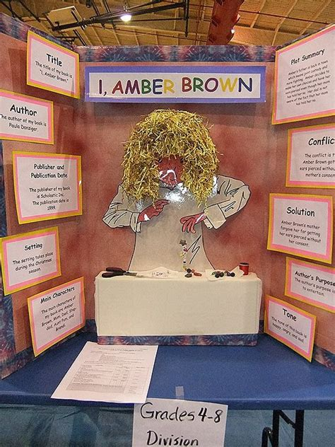 tri fold book report projects 13 best tri fold boards images on school