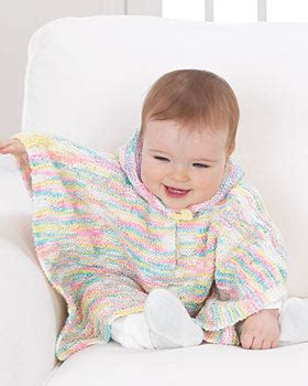 poncho knitting pattern for babies baby poncho knitting pattern favecrafts