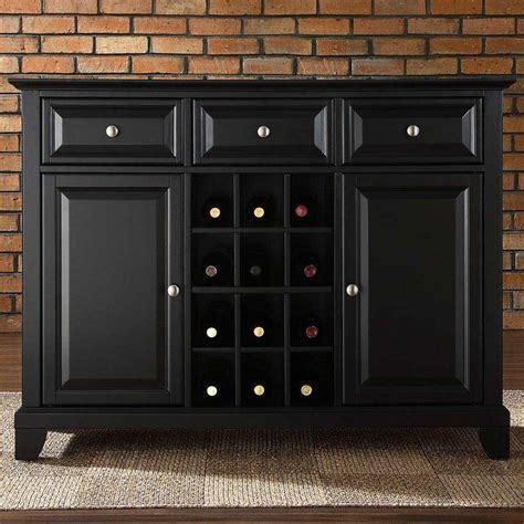 wine rack buffet plans wood projects crafts diy ideas