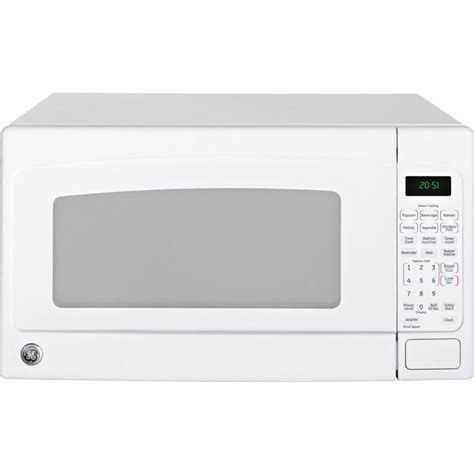 jes2051dnww ge 2 0 cu ft capacity countertop microwave