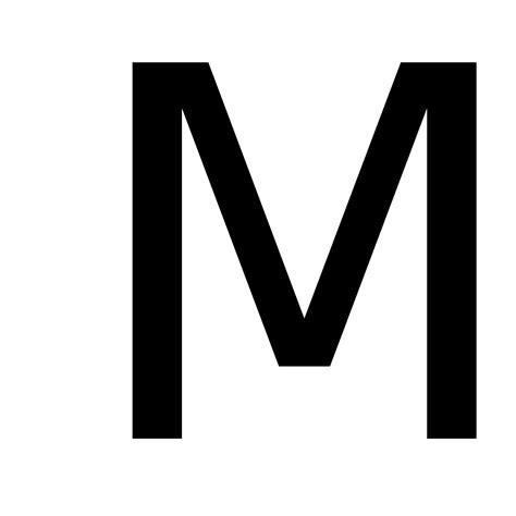M   Wiktionary