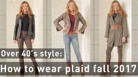 falls biggest trends how to wear plaid fall trends 2017 for women over 40 how to wear plaid for