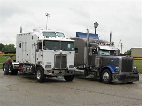 kenworth aerodyne truck kenworth k100 aerodyne peterbilt 379 heavyhauling