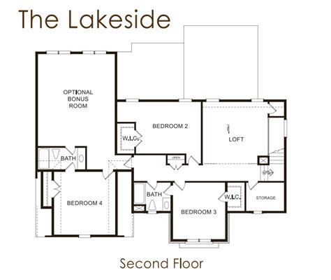 lakeside floor plan lakeside lowe properties