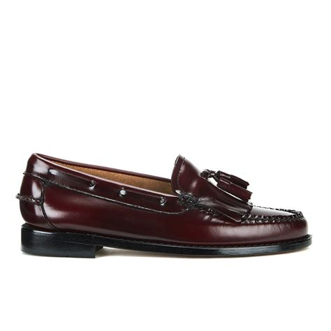 loafers bass bass weejuns s kiltie leather moc tassle loafers