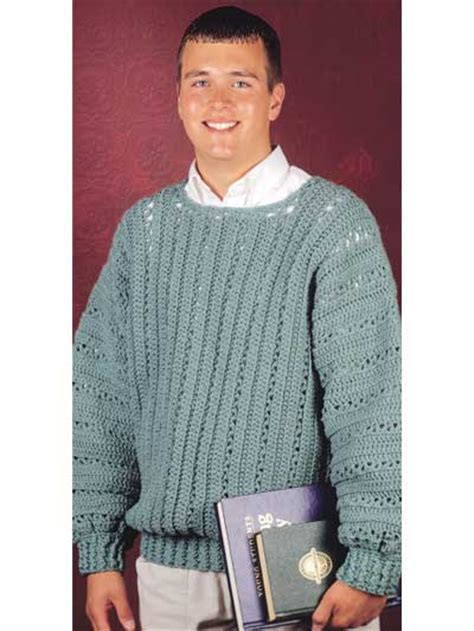 crochet pattern mens jumper crochet men s cardigans pullovers and vests perfect for
