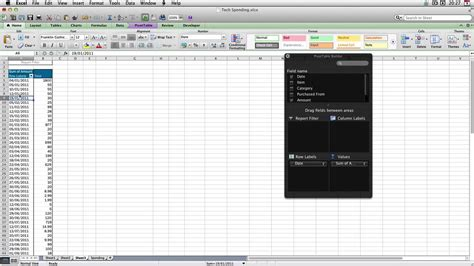 pivot table excel mac mac excel 2011 pivot table multiple sheets ms excel 2011