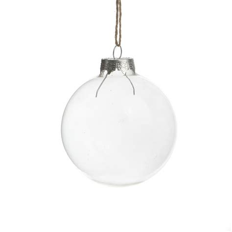 clear glass ball wedding balls christmas glass ornaments