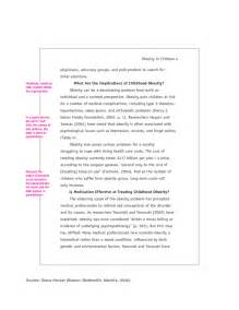 Exle Of An Apa Essay by Apa Research Paper Exle Free