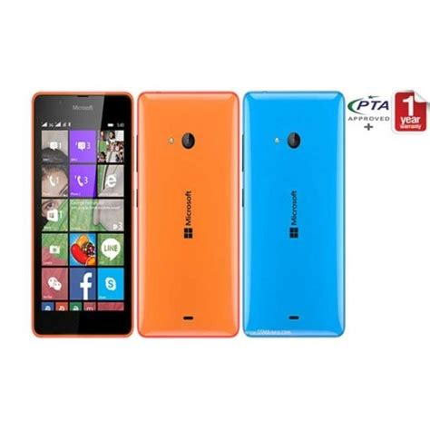Nokia Microsoft 540 nokia lumia 540 price specification available in