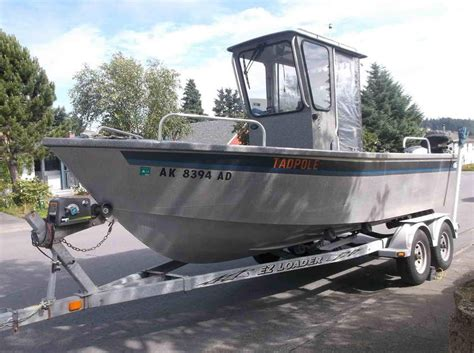 aluminum fishing boat alaska 2003 aluminum alaska fishing boat almar sounder power