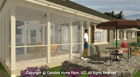 house plans with back porches house plans with screened back porch 3d images for chp sg 1248 aa small country ranch 3d