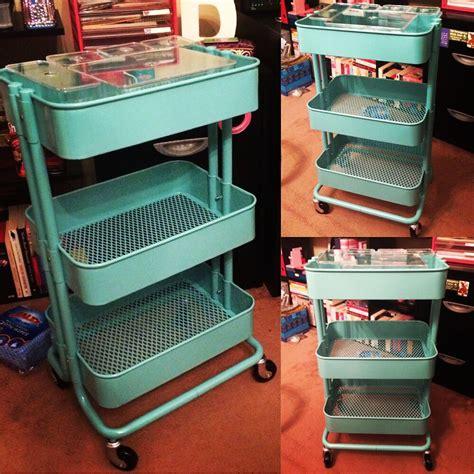 Ikea Raskog Troli ikea raskog trolley in turquoise ikea furniture