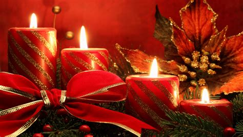 wallpapershdview com christmas candle lights hd