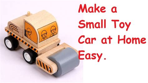 How To Make Bottle At Home How To Make A Simple Car At Home Using Bottle Caps