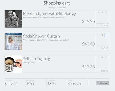 html shopping cart template 10 free html5 css3 checkout forms templates utemplates