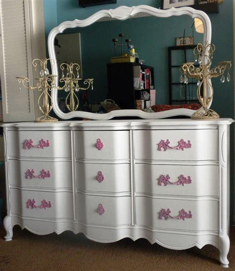 considering a vintage antique provincial dresser