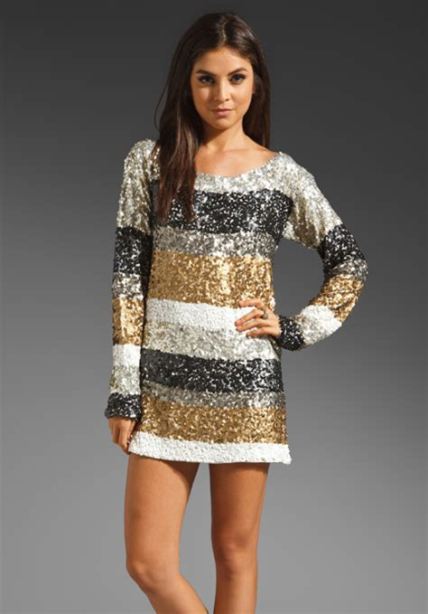 new year must wear new clothes antik batik trocadero shirt dress in silver gold